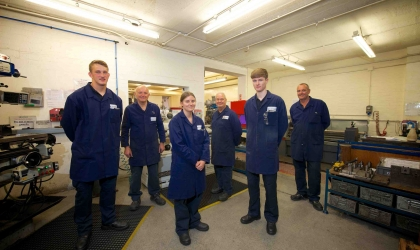Lattimer recruits new apprentices
