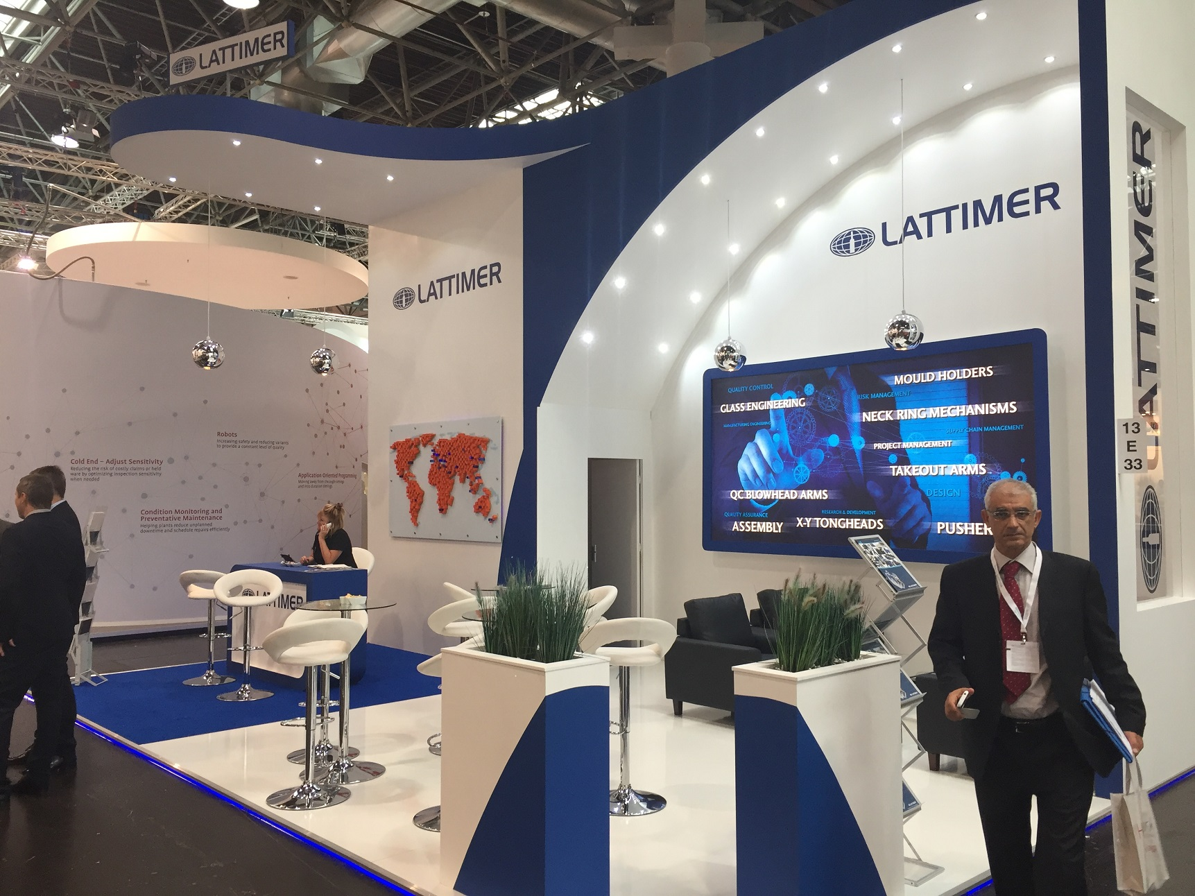 Lattimer at Glasstec 2018